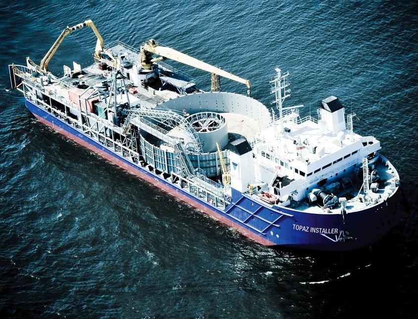 Topaz has a fleet of 117 vessels.