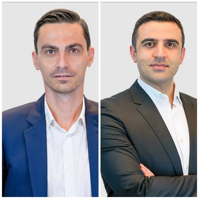 L-R: KEO's Luca Vigliero and Amin Jazayeri.