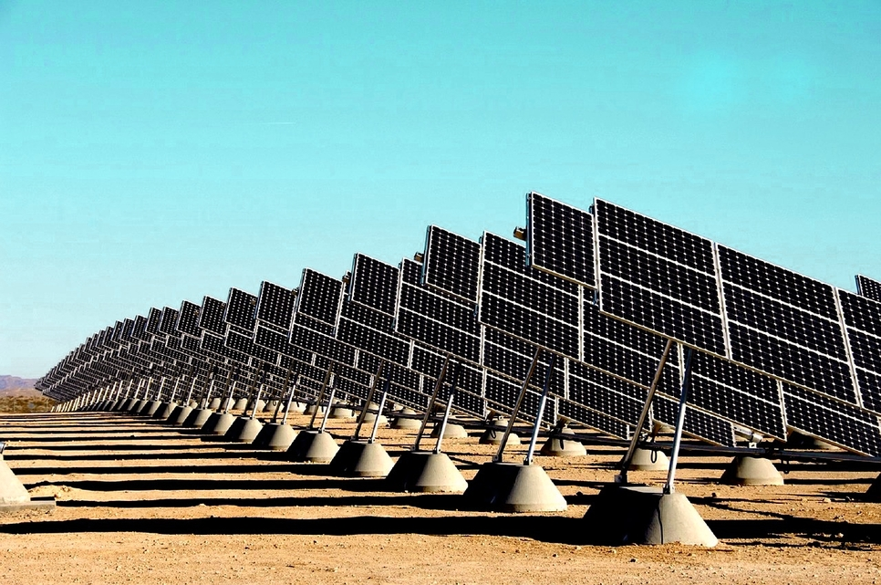The Middle East's solar power sector is expanding.