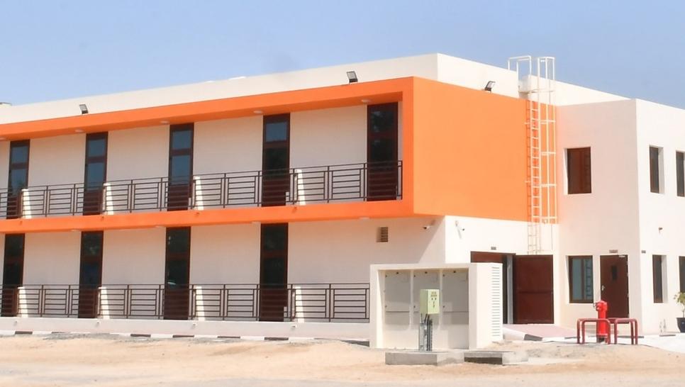 Ducab's worker homes in Jebel Ali.