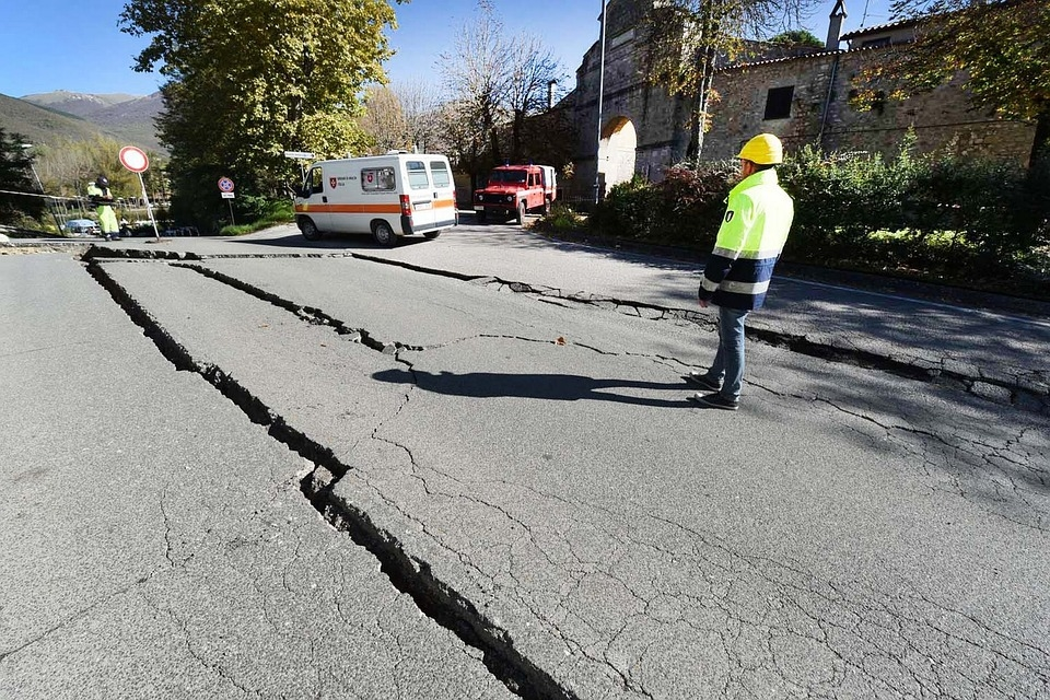 An earthquake in Iran caused tremors in Kuwait.
