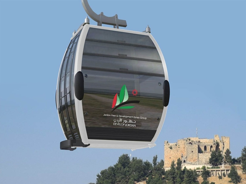 The cable car project is due to complete in 2021.