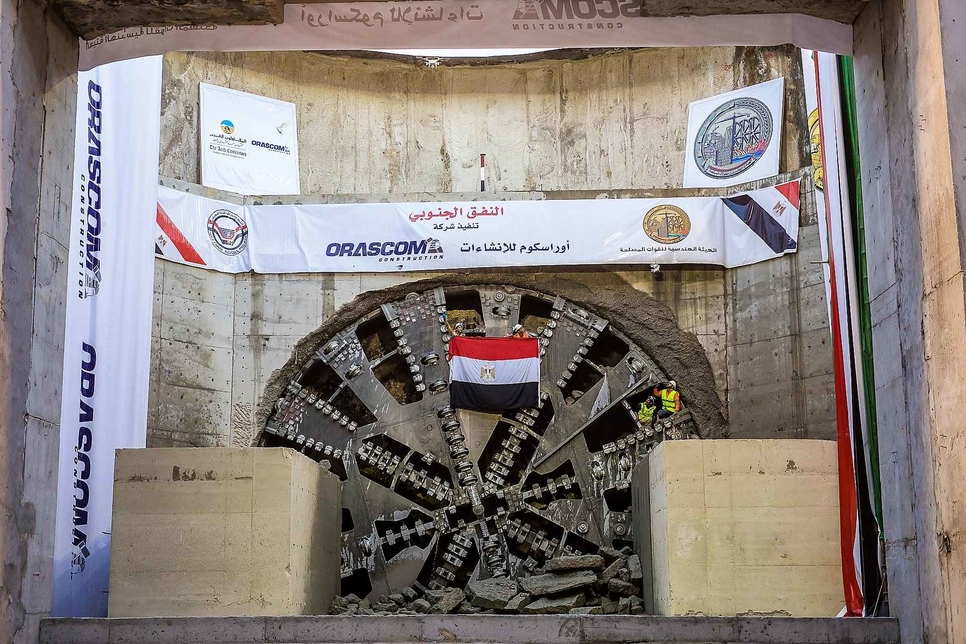 Port Said Tunnels is one of Orascom's projects.