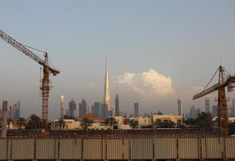 """Construction output rose at a """"record pace"""" in Dubai in June 2019."""