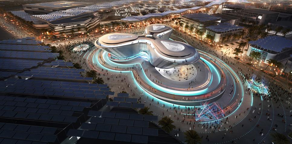 Expo 2020 Dubai's site spans 4.38km2.
