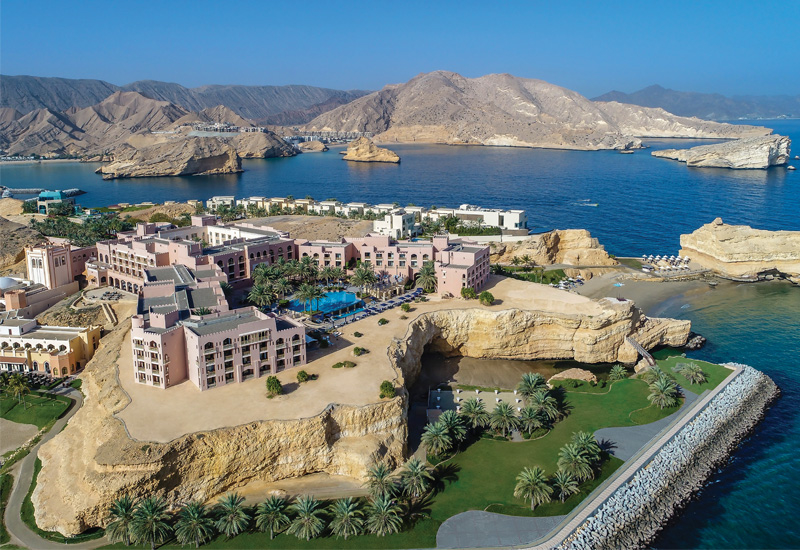 Shangri La's Al Husn Resort and Spa, Muscat.