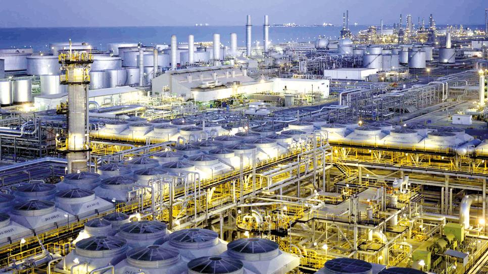 Saudi Aramco's Ras Tanura refinery near Jubail.