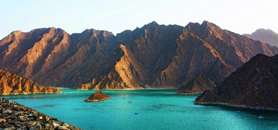 Hatta is an enclave in Dubai.