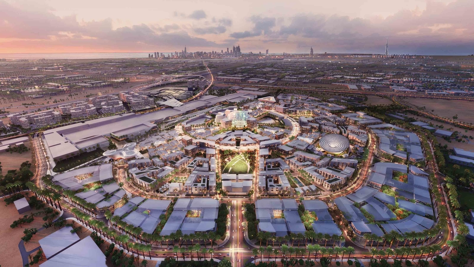 Expo 2020's real estate development team has unveiled a number of transport plans