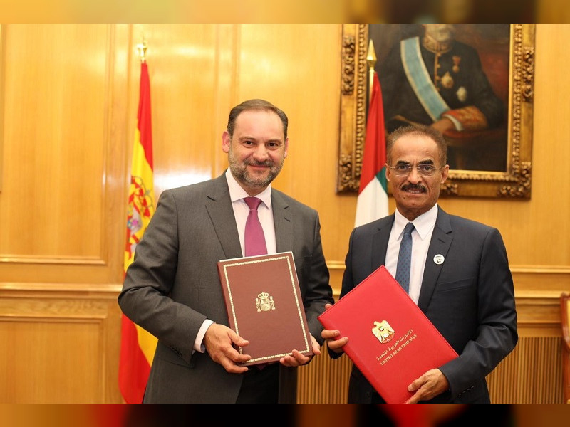 The UAE and Spain has inked an agreement to boost bilateral relations.