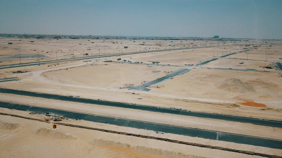 Infrastructure and internal road works at the Emirati Neghbourhood Infrastructure Project are 83.6% complete, Wam has reported.