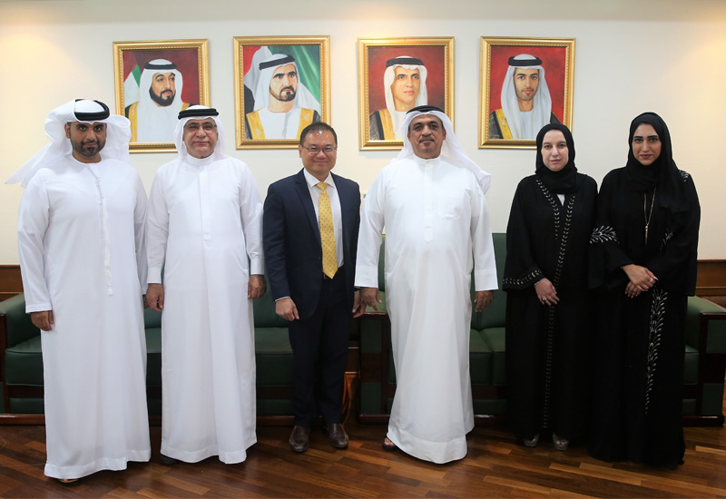 Rak and Singapore are seeking further collaboration.