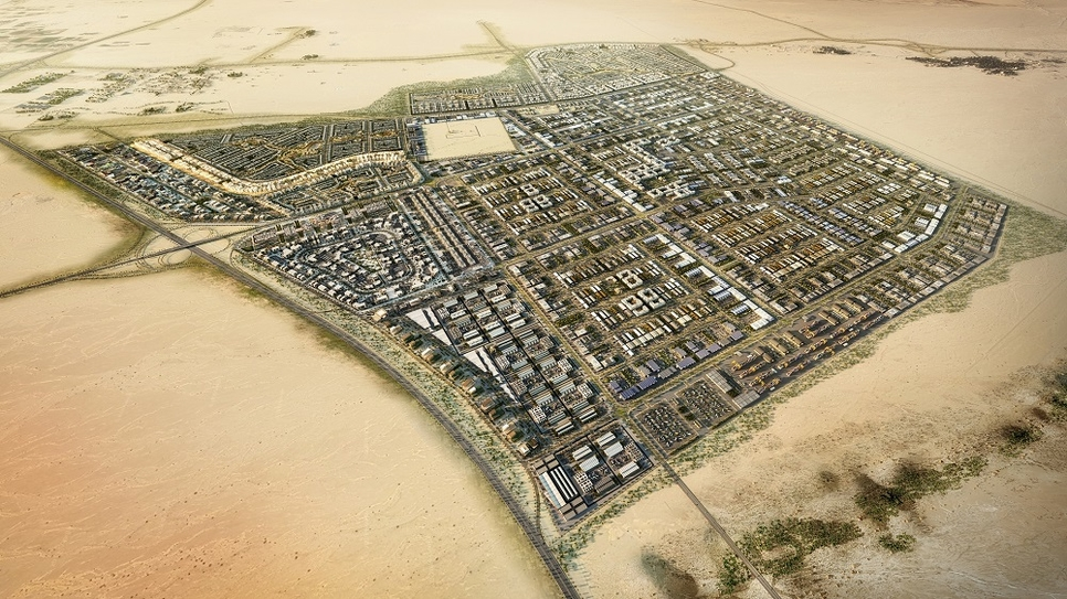 Phase 1 of Oman's Khazaen Economic City.