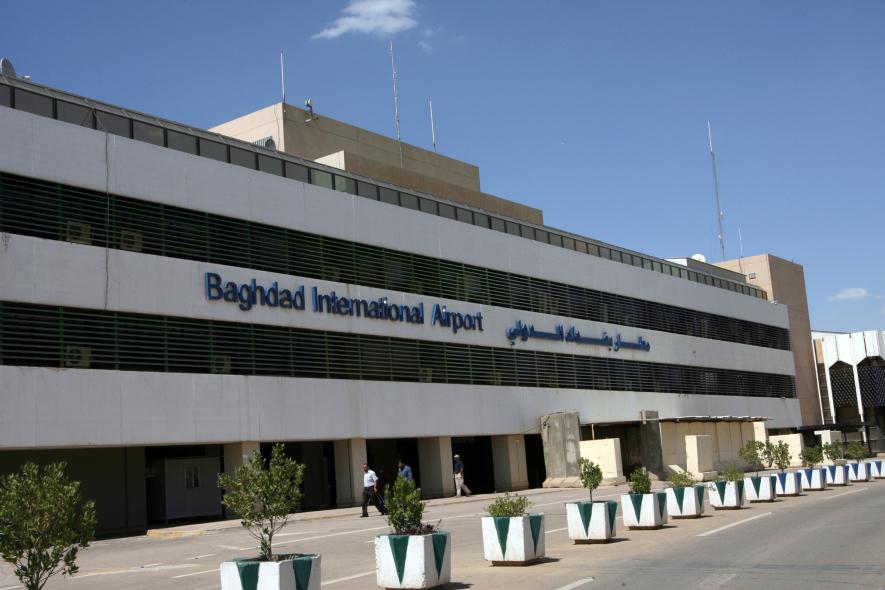 Iraq's Baghdad International Airport.