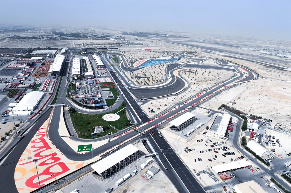 Bahrain International Circuit is home of the F1 Bahrain Grand Prix race.