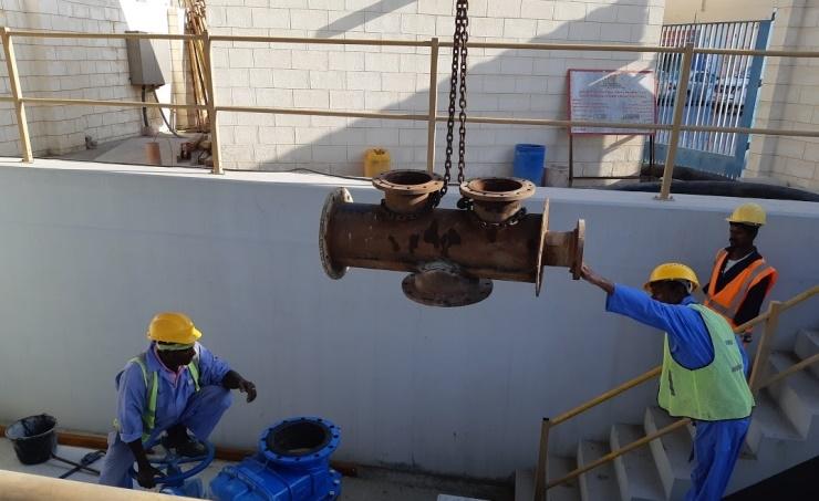 Bahrain is renovating 37 pumping stations.