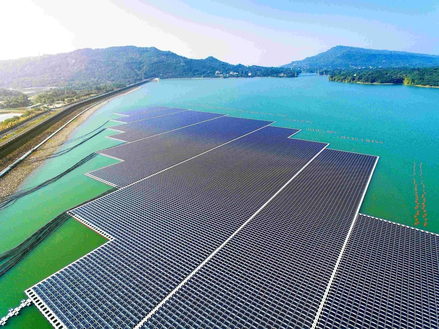 A floating solar PV plant is being explored for Dubai.