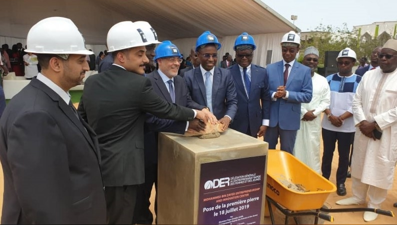 The UAE-backed centre is being built in Dakar.