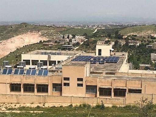 Jordan's schools are being retrofitted.