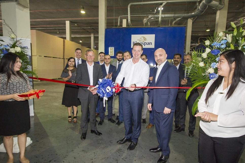Kingspan has opened a new line in Dubai.