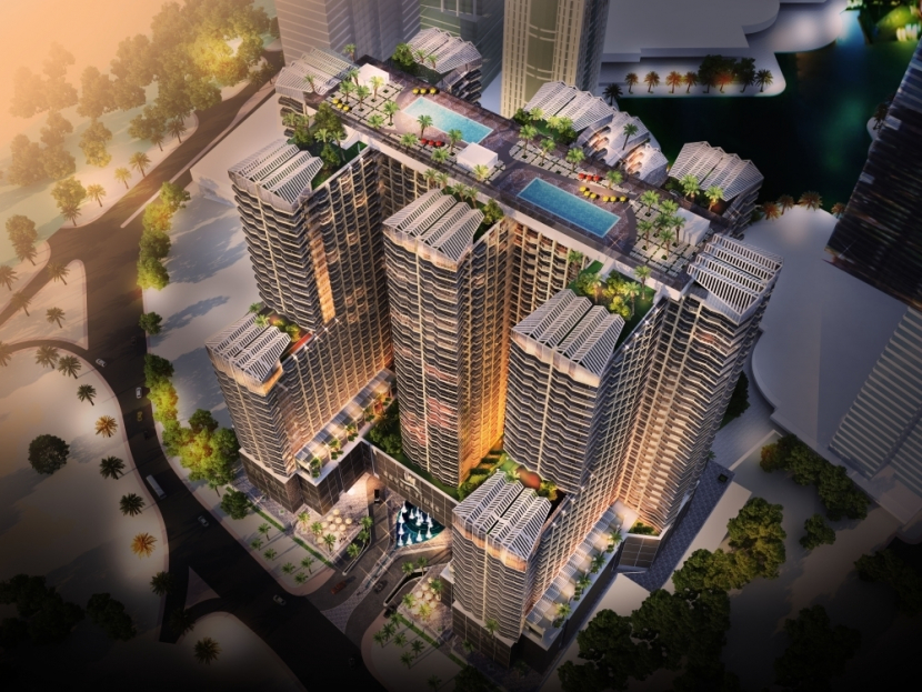Seven Tides' Se7en City homes in JLT, Dubai.