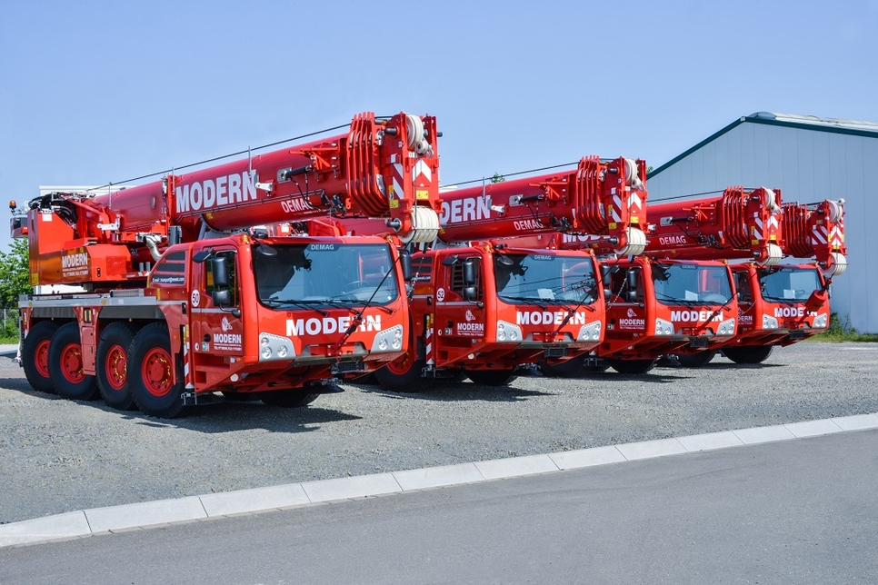 Bahrain's MMETC has purchased four Demag cranes.