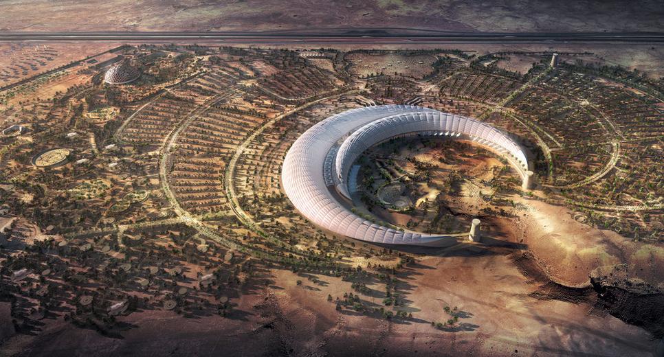 King Abdullah International Gardens, Saudi Arabia.