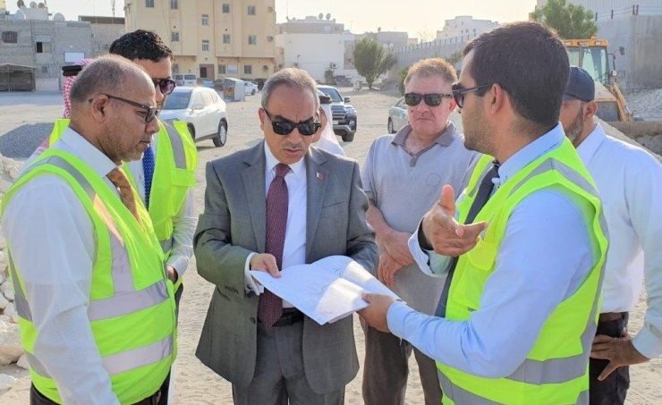 Eng Khalaf reviewed the Ma'ameer project.