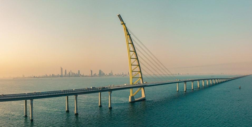 Kuwait's Sheikh Jaber Causeway.