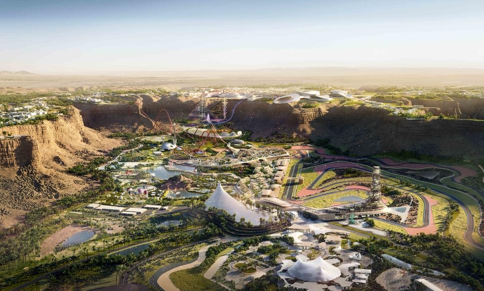 Qiddiya is Saudi Arabia's 334km2 entertainment city.