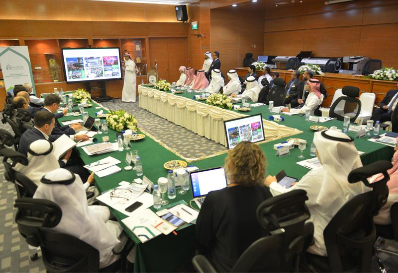 Rua Al Madinah Holding Company's workshop.