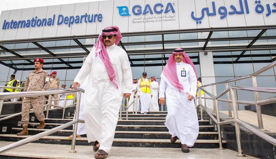 Abha International Airport's expansion has been reviewed.