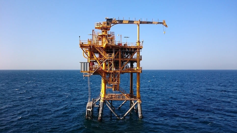 The offshore Merak-1 drilling work has ended.