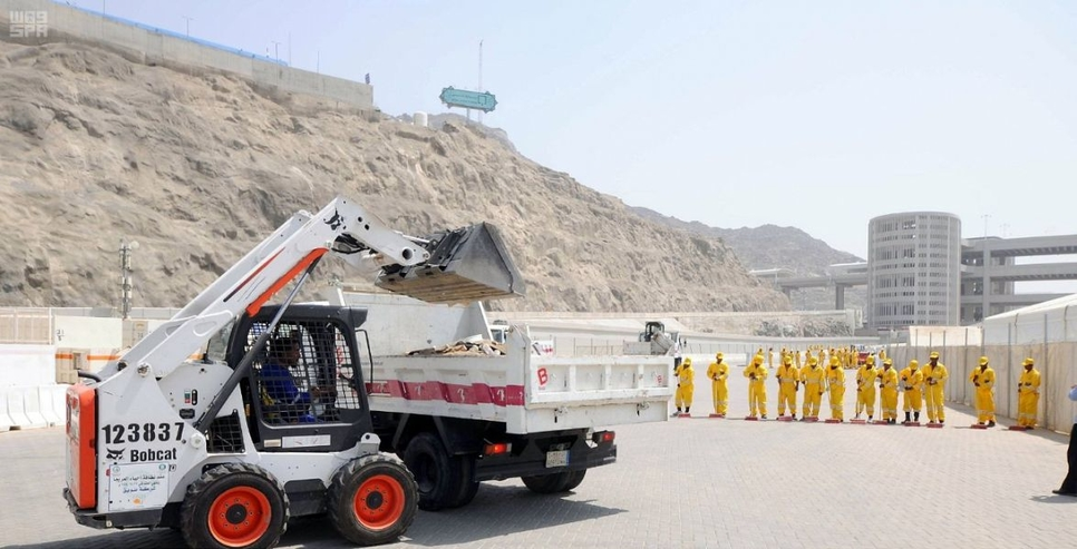 Saudi Arabia's Makkah Municipality is preparing for Hajj 2019.