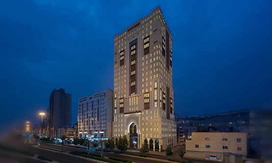 The Park Inn by Radisson Makkah Aziziyah hotel.