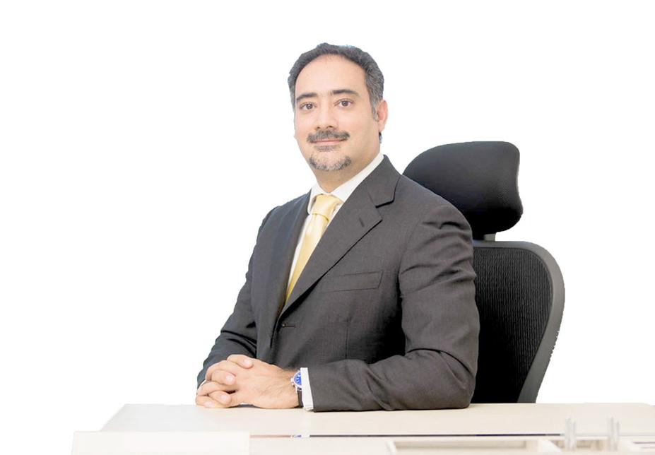Amin Alarrayed, CEO of Edamah and chairman of Bahrain Car Parks Co.
