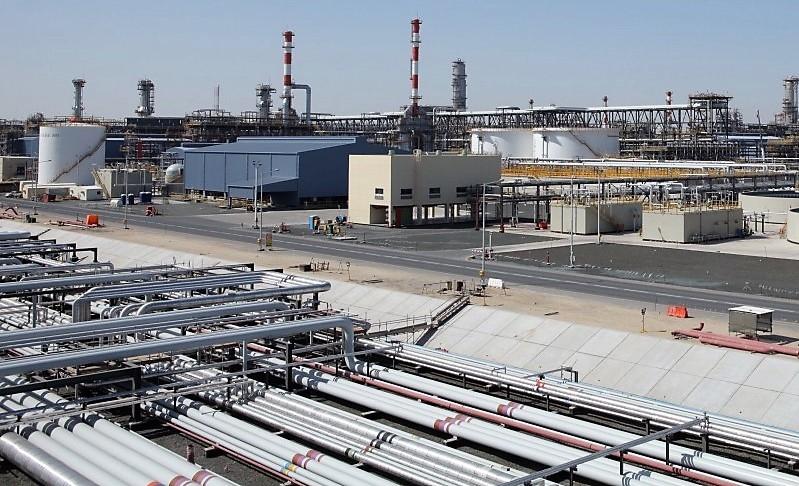 Adnoc's refinery in Ruwais.