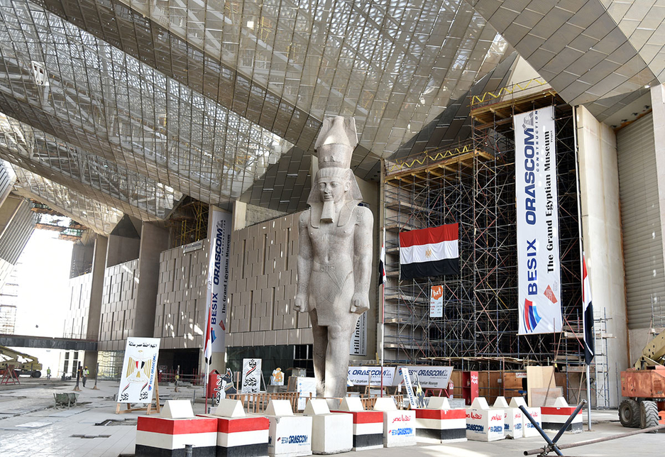 The Grand Egyptian Museum will open in 2020.