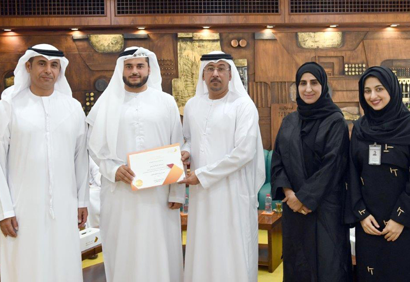 Dubai Municipality's Waidoun graduation programme.