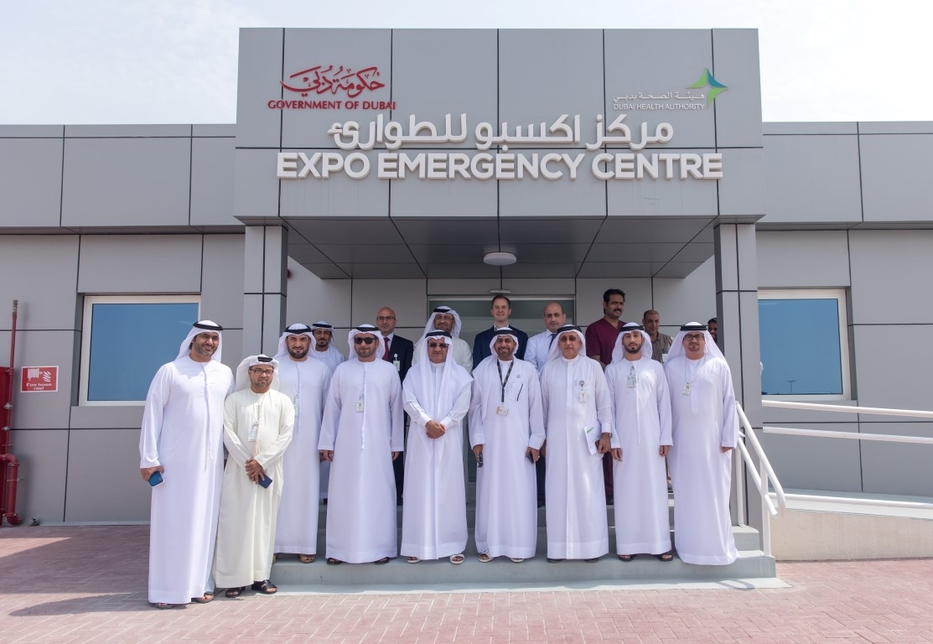 Expo 2020 Dubai's Emergency Centre will be operated by DHA.