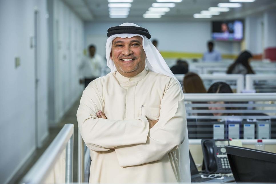 Eltizam chief operations officer Mohammed Alsharaf.