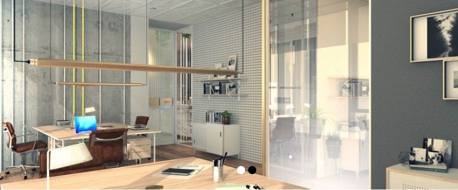 The building will be spread across two floors and offers office spaces.