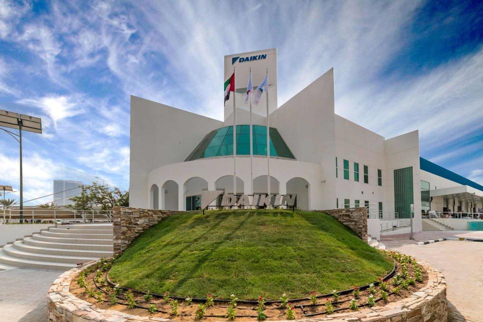 Daikin will relocate its HQ to Jafza in Dubai.