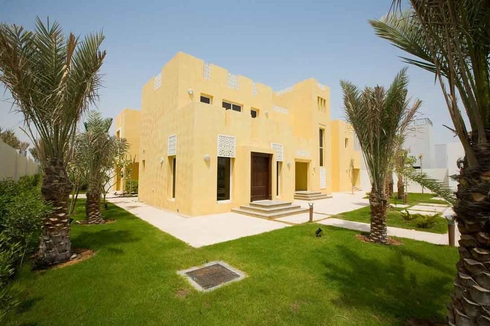 Aldar Properties' Al Falah Homes.