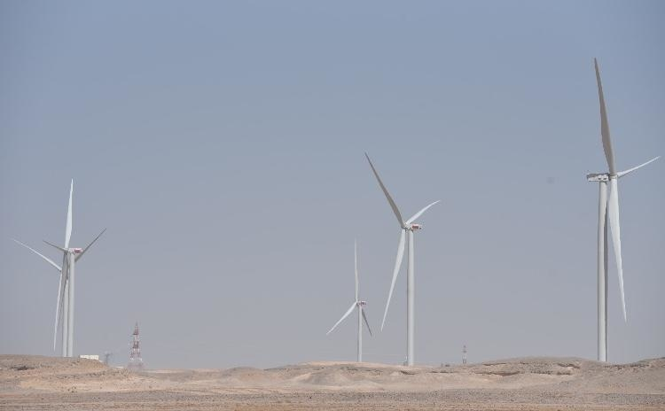 The wind farm will power 16,000 homes.