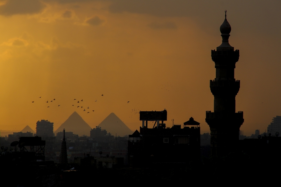 An Egyptian mosque will be demolished [representational].