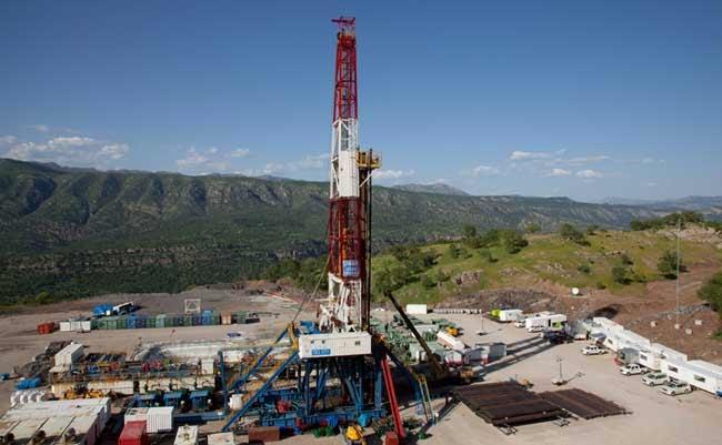 Taqa Atrush's oilfield in Kurdistan.