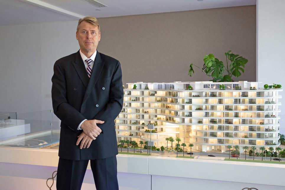 Mika Toivola, Azizi Developments' new CFO.