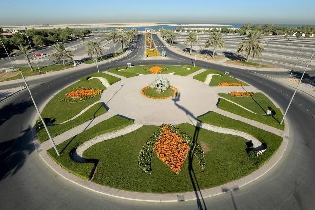 Dubai Municipality increased green areas in 2018.