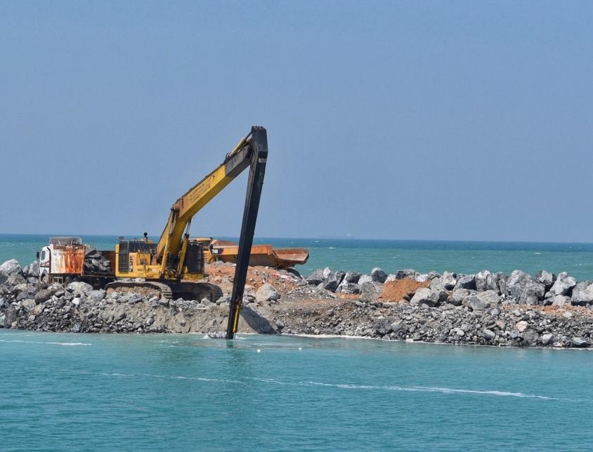 Umm Al Quwain's Al Maidan Marina has been expanded.
